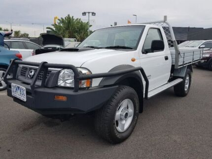 2013 Nissan Navara White Manual Cab Chassis Hoppers Crossing Wyndham Area Preview