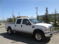 back of lease 2008 ford f350 crew lariat diesel truck