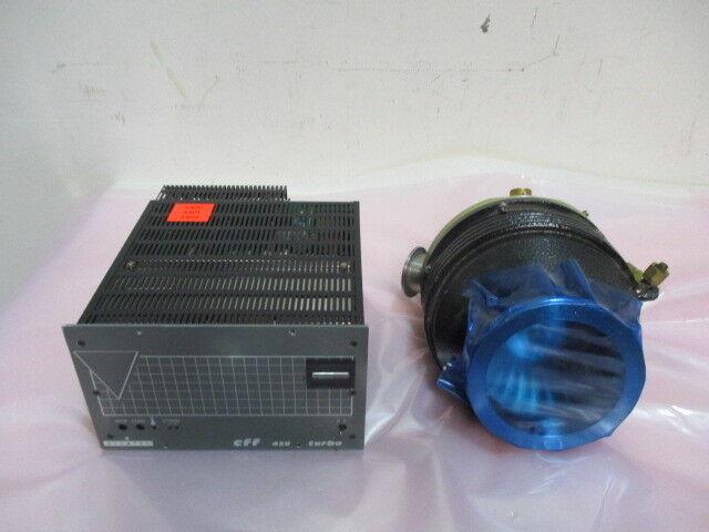 Alcatel-Annecy 5402 CP Turbo Vacuum Pump w/ CFF 450 Turbo Controller. 423016
