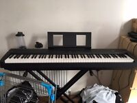 Full Size 88-key Weighted Yamaha P-45 Digital Piano (Keyboard) + Stagg Stand + 2 learning books