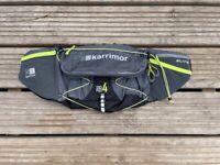 Karrimor Elite Race Belt 4 Rucksack Marathon Running Water Bottle Holder