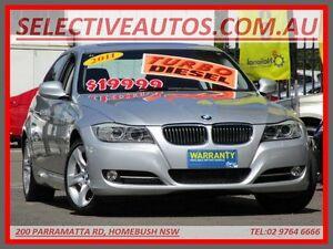 2011 BMW 320D E90 MY11 Lifestyle Silver 6 Speed Steptronic Sedan Homebush Strathfield Area Preview