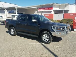 2016 Ford Ranger PX MkII XLS 3.2 (4x4) Grey 6 Speed Automatic Dual Cab Utility Warwick Southern Downs Preview