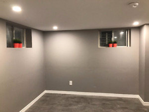Renovated 2 bedrooms Basement Apt near Eglinton and Dufferin