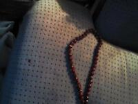 Red beads good shape