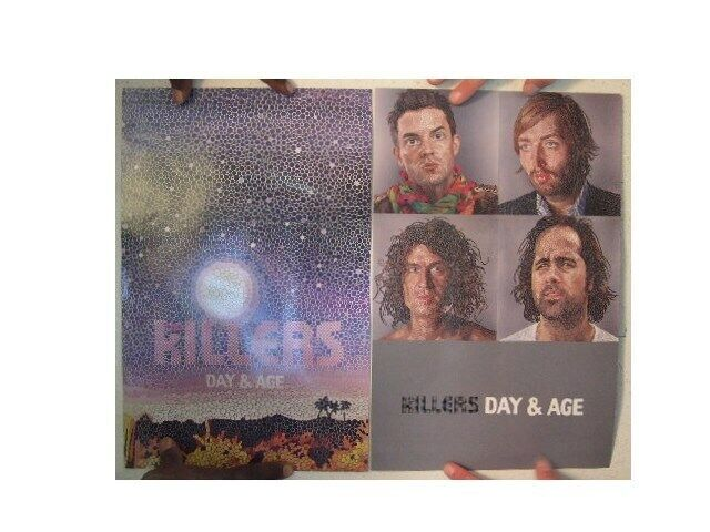 The Killers Poster  Day & And Age  Two Sided