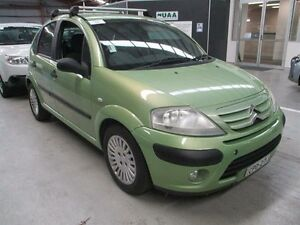 2008 Citroen C3 MY08 HDi Green 5 Speed Manual Hatchback Maryville Newcastle Area Preview