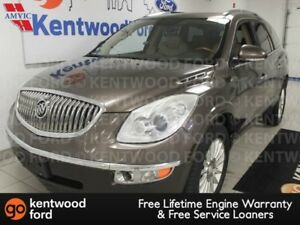 2008 Buick Enclave CXL with heated tan heated power leather seat