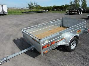 Galvanized N&N 54X97 Trailer