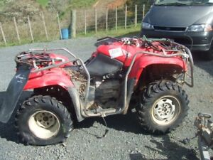 buying atv's for parts