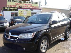 2010 DODGE JOURNEY AUTO LOAD 7 SEATS 89K-100% APPROVED FINANCING
