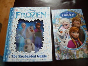 2 Disney FROZEN Books