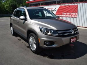2016 Volkswagen Tiguan Special Edition 4dr All-wheel Drive 4MOTI