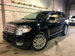 2009 FORD EDGE LIMITED AWD 233,000KM CUIR/TOIT PANORAMIQUE/MAGS