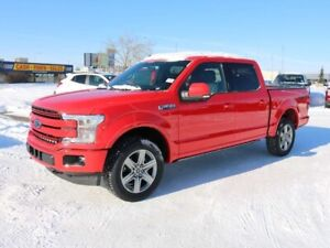 2019 Ford F-150 LARIAT, 502A, 3.5L ECOBOOST, 4X4, SYNC3, NAV, RE