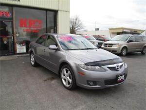 2008 MAZDA 6 WITH ONLY 105,000KMS!!!!!