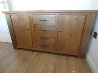 Oak Sideboard from Next Hudson range - matching items also available