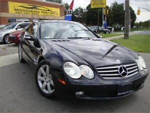 2005 Mercedes-Benz SL500,Roadster,ONE LOCAL OWNER,NO ACCIDENT