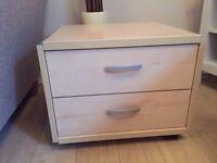 2 drawer bedroom / office cabinet