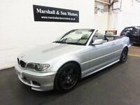 2005 55 BMW 3 SERIES 318CI M SPORT 148 BHP CONVERTIBLE