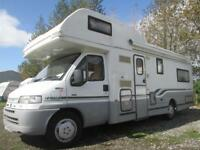 1998 AUTOCRUISE IMPALA, FIVE BERTH, REAR LOUNGE MOTORHOME FOR SALE
