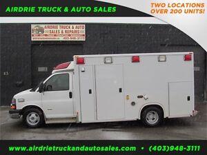 2008 Chevrolet Express Ambulance DURAMAX DIESEL