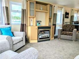Luxury static caravan, sublet options, freestanding furniture, fridge freezer