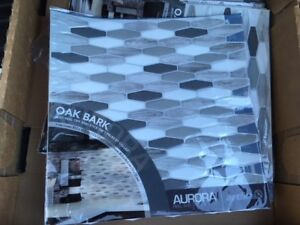 Brand New Aurora Peel and Stick Mosaic Tile/Backsplash x11