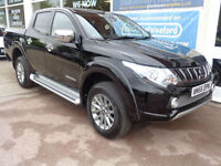 Mitsubishi L 200 4x4 Barbarian DI-D Nearly New only 500 miles Sat Nav