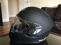 SHOEI XR1100 MATT BLACK FULL FACE HELMET