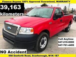 2008 Ford F-150 XL FINANCE 100% APPROVED WARRANTY ONLY 39,163 KM