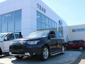 2014 Mitsubishi Outlander GT, 3.0L V6,4x4, Leather