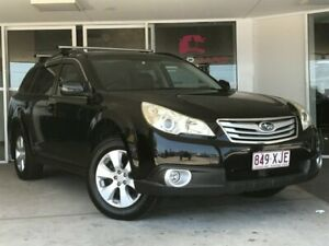 2011 Subaru Outback B5A MY11 2.5i Lineartronic AWD Premium Black 6 Speed Constant Variable Wagon