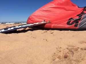Kite Slingshot Z 11m 2015 (inclus barre) & kiteboard crisis 141 West Island Greater Montréal image 2