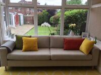 2 Bolia 3 seat sofa's for sale
