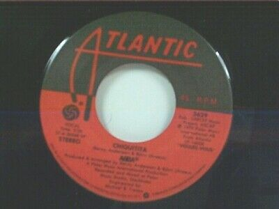"ABBA ""CHIQUITITA / LOVELIGHT"" 45  NEAR MINT"