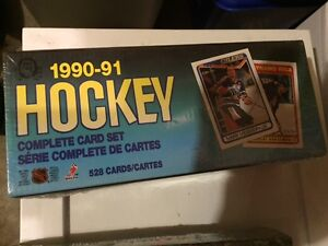 1990-91 OPC O-pee-chee Hockey card set sealed