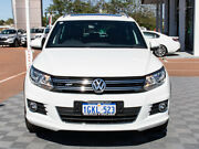 2016 Volkswagen Tiguan 5N MY16 155TSI DSG 4MOTION R-Line White 7 Speed Sports Automatic Dual Clutch Alfred Cove Melville Area Preview