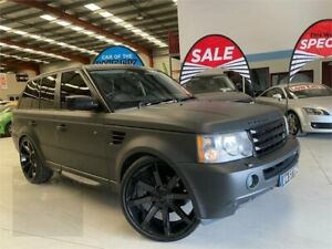 2005 Land Rover Range Rover Sport L320 06MY V8 Black 6 Speed Sports Automatic Wagon Laverton North Wyndham Area Preview