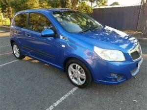 2010 Holden Barina TK MY10 Blue 5 Speed Manual Hatchback Granville Parramatta Area Preview