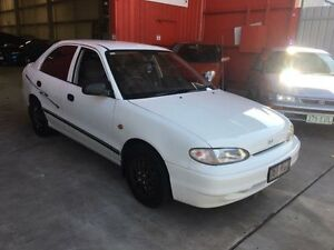 1996 Hyundai Excel X3 LX Automatic Hatchback Clontarf Redcliffe Area Preview