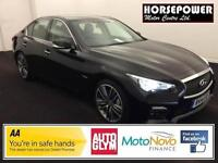 2014 Infiniti Q50 3.5 Hybrid S AWD 4dr PETROL/ELECTRIC black Automatic