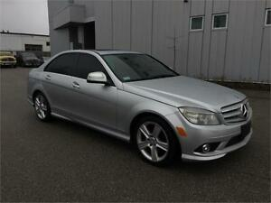 2008 MERCEDES C300 4MATIC SPORT PACKAGE LEATHER SUNROOF