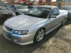 2005 Holden Commodore VZ SSZ Silver 4 Speed Automatic Utility Hoppers Crossing Wyndham Area Preview