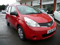 NISSAN NOTE 1.5 VISIA DCI 5d 89 BHP (red) 2011
