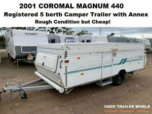 2001 Coromal Magnum 440 Registered 5 berth Camper Trailer. Sydney Heathcote Sutherland Area Preview