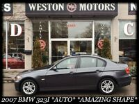 2007 BMW 323 *AUTO*LEATHER*SUNROOF*SPORT WHEELS*