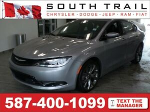 2016 Chrysler 200 S - Call/txt/email ROGER @ (587)400-0613