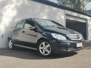 2007 Mercedes-Benz B200 W245 MY08 Black 7 Speed Constant Variable Hatchback Ashmore Gold Coast City Preview