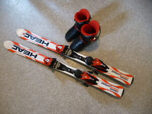 Head Skis and boots